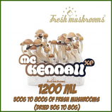 McKennaii 1200ml Grow Kit Freshmushrooms